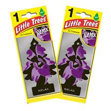 2 X Magic Tree Little Trees Car Air Freshener - Relax