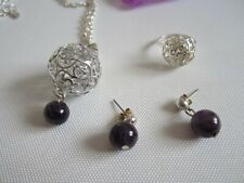 LBVYR Necklace, Earrings and  Ring Set