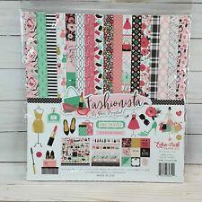 "Echo Park Fashionista Scrapbook Kit 12"" x 12"" by Paper Studio,Glam Scrapbooking"