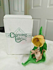 Charming Tails * Spring Flowers * Mint in Box * Sylvestri 89310