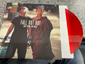 """Fall Out Boy Save Rock And Roll Red 10"""" double Vinyl Limited Edition"""