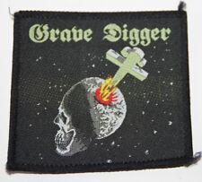 Grave Digger, Heavy Metal Breakdown, Vintage Patch 80's, rar, rare