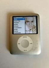 Apple iPod A1236, Mb245C Nano 3th Gen 4Gb Tested Mp3 Player Sliver/Gray Working