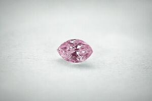 Loose natural Diamond Marquise 1.10 Ct VS1 Fancy Light Pink