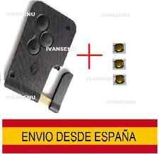CARCASA LLAVE MANDO TARJETA RENAULT MEGANE CLIO SCENIC 3 PULSADORES ESPADIN