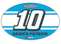 NASCAR #10 Danica Patrick Oval Magnet-NASCAR Magnet-NEW for 2016!