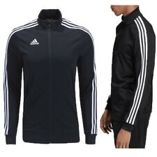 Adidas Mens Tracksuit Top Tiro 19 Football Training Jacket Jumper Full Zip Black