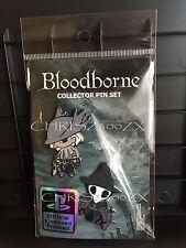 Bloodborne Pin SET B Pinny Hunter Naughty Dog / Sony Playstation x2 Pins