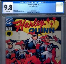 PRIMO:  HARLEY QUINN #4 NM/MT 9.8 CGC 2001 HIGHEST Suicide Squad DC movie comics