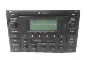2002-2005 VW Volkswagen Jetta Golf Passat Radio Stereo CD Tape Player Monsoon