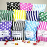 Personalised Wedding Favour Sweet Birthday Candy Cart Bags | Striped | Polka Dot