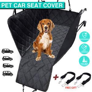 Premium Pet Back Car Seat Cover Hammock Waterproof NonSlip Cat Dog Protector Mat