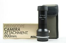 Nikon Fieldscope Camera attachment 800mm f/13.3 (NEW)