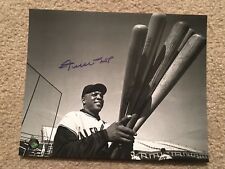 Willie Mays Signed Autographed Auto 8x10 Bats Photo Say Hey Authentic Giants HOF