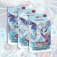 STRUCTURE DECK: FREEZING CHAINS x3 | 138 CARDS TRISHULA YuGiOh SEALED