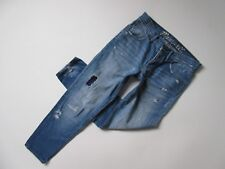 Madewell Boyfriend in Destroyed Rip & Repair Relaxed Buttonfly Jeans 25