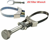 Car Adjustable Oil Filter Wrench Removal Tool Strap Aluminium 60-120mm Diameter