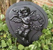 Teardrop angel mold plaster concrete mould Looking left