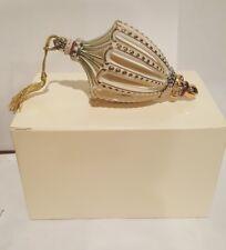Lenox Jeweled Gem Ornament Emerald in Original Box