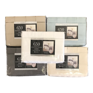 Hotel Premier Collection 650 Thread Count Egyptian Cotton, 6 Piece Set