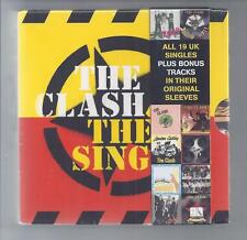THE CLASH The Singles All 19 UK Singles CD BOX set original sleeves sealed NEW