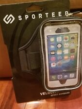 Sporteer Velocity V6 Armband for Samsung Galaxy S9 S8 S7 Edge Active Fits Cases!