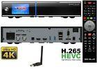 Gigablue UHD Quad 4K 2xDVB-S2 FBC ULTRA HD E2 Linux HEVC H.265 Receiver WIFI +