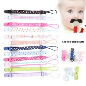 Infant Baby Anti lost Kids Soother Baby Strap Pacifier Clip Chain Leash Holders