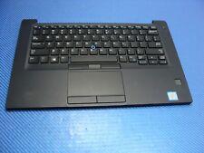 """Dell Latitude 7490 14"""" Genuine Palmrest w/Touchpad Keyboard Speakers JK36G"""