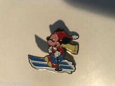 Disneyland Productions Mickey Mouse Downhill Skier Vintage Pin