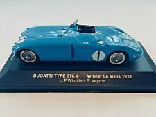 1:43 BUGATTI 57C  WINNER 1939 LE MANS     WIMILLE - VEYRON     LM1939