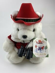 Dayton Hudson Marshall Fields Plush SANTA BEAR Conservation Corp 1995 MINT