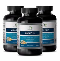 Muira puama pills MACA PLUS ORGANIC COMPLEX 1300  Antibacterial and antiviral 3B
