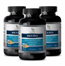 Male power MACA PLUS ORGANIC COMPLEX 1300 mg Reduces anxiety and depression 3B