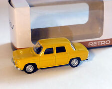 Renault 8 Gordini, amarillo, NOREV, 1:64