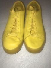 adidas Mens - Size 9.5 - Yellow Leather Sneakers.               - (SS4L)