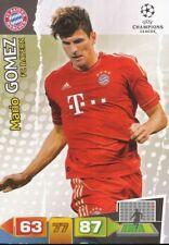 MARIO GOMEZ GERMANY BAYERN MUNCHEN CARD ADRENALYN CHAMPIONS LEAGUE 2012 PANINI