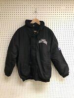 Vintage Starter Toronto Raptors Black Embroidered Coat Sz L