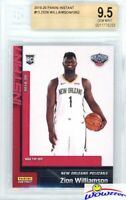 ZION WILLIAMSON 2019 Panini #13 NBA Tip Off NEW ORLEANS ROOKIE BGS 9.5 GEM MINT