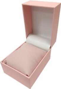 Verbalise Watch Box, Pink