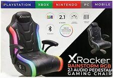 XROCKER RAINSTORM 2.1 WIRELESS RGB GAMING CHAIR.