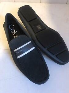 Calvin Klein Grey Suede Boating Shoes UK 10 EURO 44