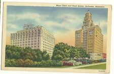 Mayo Clinic Hotel Kahler Rochester MN Cars Post Card