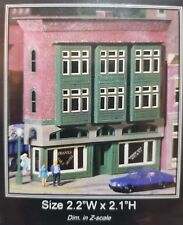 N Scale Miller Eng Micro-Structures N 404 The Triangle Hotel & Bar Kit