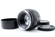 MINT CARL ZEISS PLANAR T* 50mm F1.4 ZE LENS for CANON EF MOUNT from Japan 609747