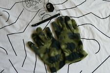 A Bathing Ape Gloves BAPE Green Camo Fleece Gloves