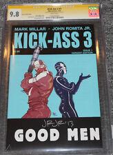 Kick Ass 3 #1 Pasqual Ferry Variant CGC 9.8 SS Signed by John Romita