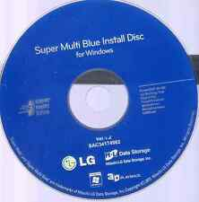 LG Super Mulit Blue Ray Disc Blu-Ray Playing burner Software for windows