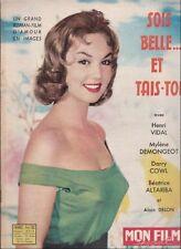 Mon Film Spécial Sept. 1958 - Sois Belle et Tais-Toi, M. Demongeot, A. Delon
