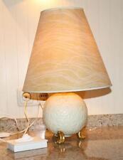 Tischlampe Lampe 30er Jahre Vintage Neu Tettau NT Porzellan Lampenfuß